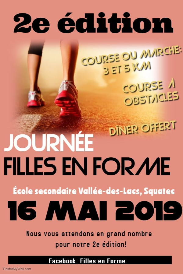 Filles forme 2e edition