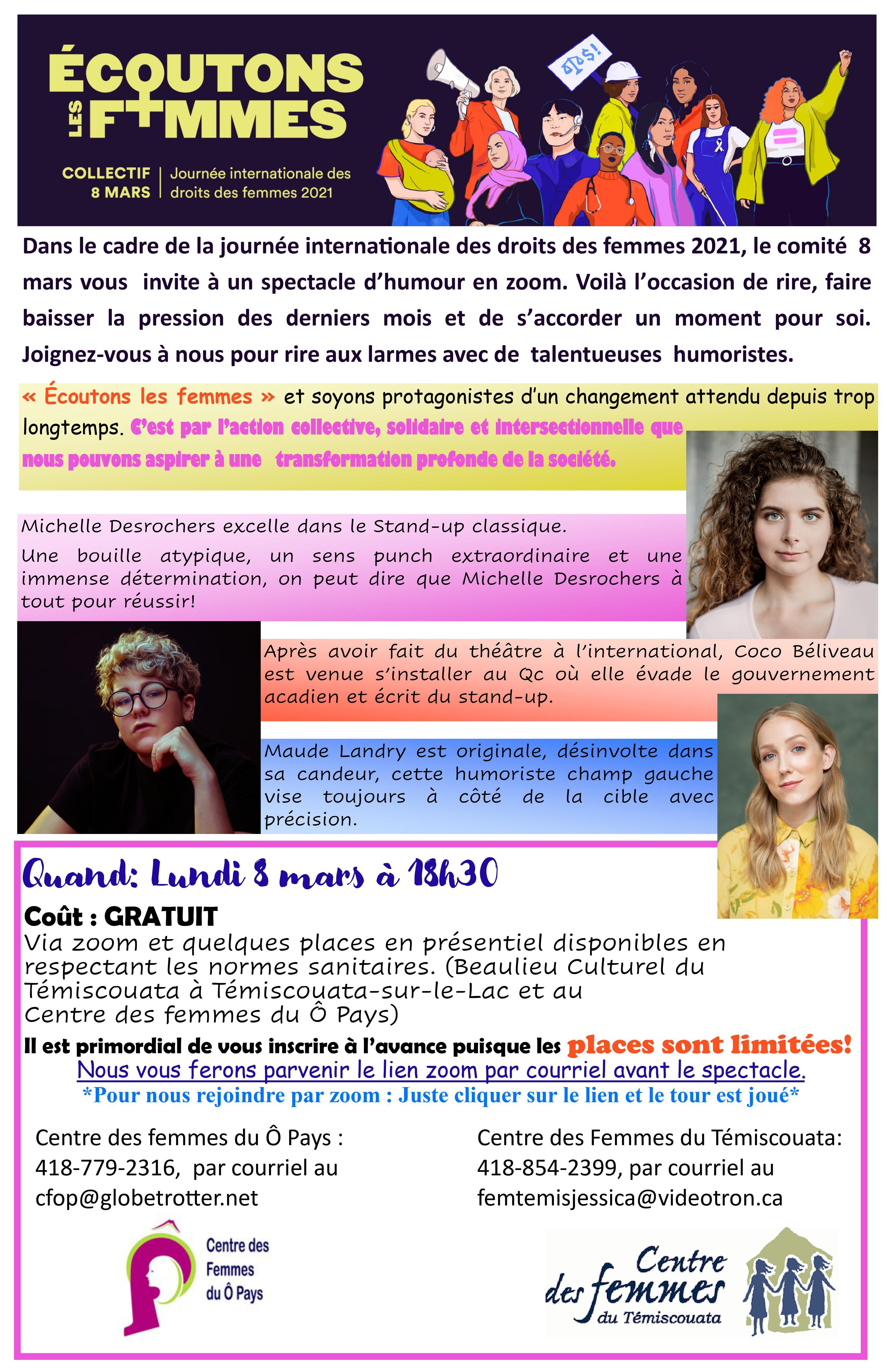 CDF affiche 8 mars